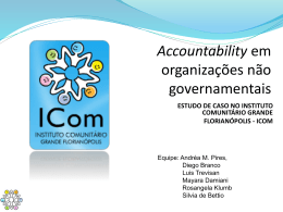 Accountability em ONGs