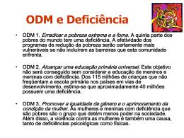 Rosangela B. Bieler - ODM e Deficiência