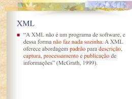 Conceitos de XML