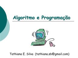 Algoritmo e Programação_Vetor