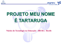 Nordeste - Projeto Meu Nome é Tartaruga