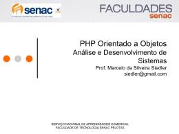 Modificadores de acesso em PHP