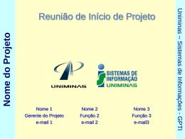 Reuniao de Abertura - Projeto - cqipac