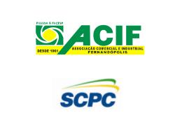 scpc - Acif - Associação Comercial e Industrial de Fernandópolis