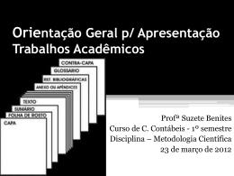 trabalho acadêmico