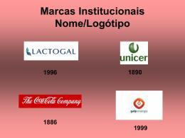 Marcas Institucionais Logótipos/Nome