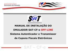 SAT – CF-e