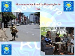 Apresentação Movimento Nacional da População de Rua