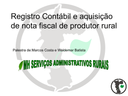 Financiamento Rural