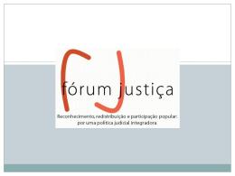 veja aqui - Fórum Justiça