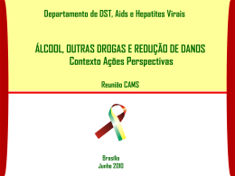 - Departamento de DST, Aids e Hepatites Virais