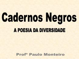 Cadernos negros: os melhores poemas.