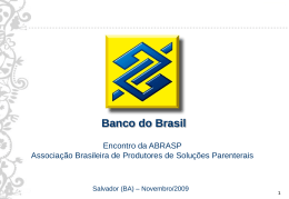 Banco do Brasil - Ronaldo Pozza