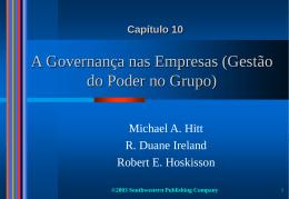 Mecanismos de Governança