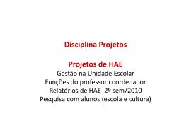 Apresentacao Equipe CETEC Projetos HAE