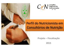 """Palestra """"Projeto de Fiscalização do CRN"""