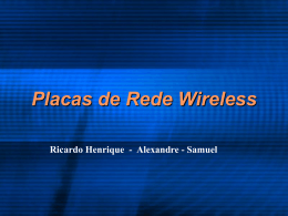 Placas Wireless