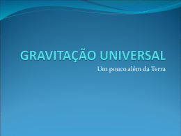 Gravitaçăo Universal