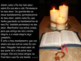 Palavra (Jo 15,9-14)