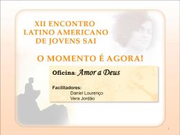 Oficina Amor a Deus - Organização Sri Sathya Sai no Brasil