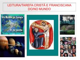 leitura cristã e franciscana do mundo