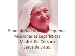 Amor - Associação das Pequenas Missionárias Eucarísticas Brasil
