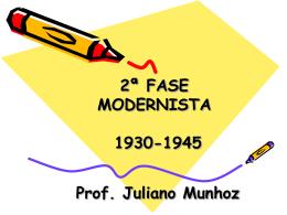 2ª Fase Modernista - 3ºs anos EM