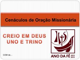 COMUnoTrinoJulho2013 - Missionários Combonianos