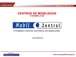 Mobil Zentral - transport learning