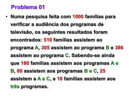 Problemas - Conjuntos