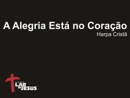 LD0526 - A ALEGRIA ESTA NO CORACAO