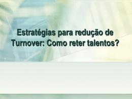 Estratégias de recursos humanos no trabalho por turno
