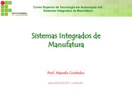 Curso Superior de Tecnologia em Automação Ind. Sistemas