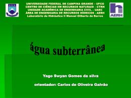 UNIVERSIDADE FEDERAL DE CAMPINA GRANDE – UFCG