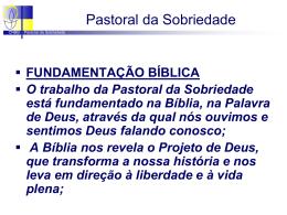Slide 1 - Paróquia Bom Jesus dos Migrantes