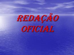 REDAÇÃO OFICIAL - Tese Concursos