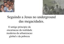 funda igrejas nas mega-cidades
