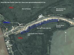 Área 2 Ilha Grande dos Marinheiros, lado Sul