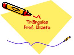 A bissetriz interna de um triângulo determina sobre o lado oposto