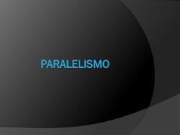 PARALELISMO - Colégio Salesiano Recife