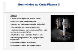Teoria do Corte Plasma