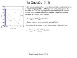 Gabarito 1a verificação 2010/2