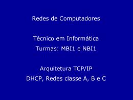 Protocolo TCP/IP - Faculdade Gama e Souza