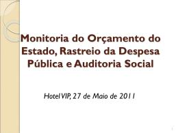 Monitoria do Orcamento_Apresentação 27-05