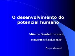 Desenvolvimento do Potencial Humano