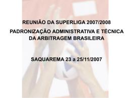 iii – instruções gerais para os árbitros