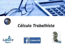 Cálculo Trabalhista - CRC-ES