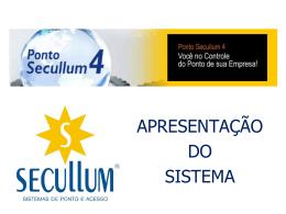 PONTO SECULLUM - Pontec Relogio