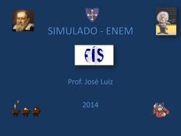 Resolução do - Professor José Luiz