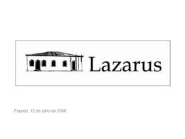 Lazarus - Portal Gestão Social
